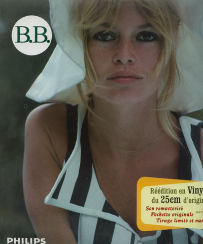 "Brigitte Bardot - B.B. 64 - Philips 077110-0 France 10"" PS"