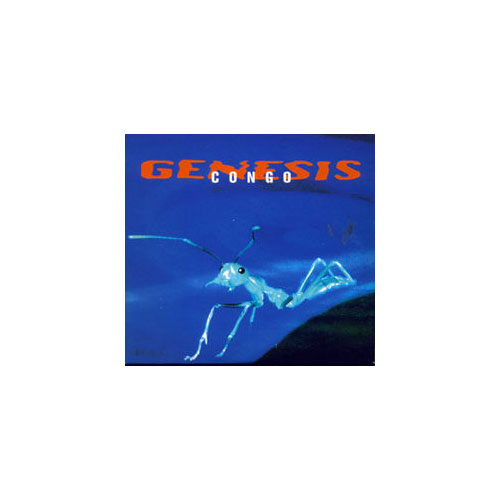 Genesis - Congo - Virgin GENDDJ12 France CDS