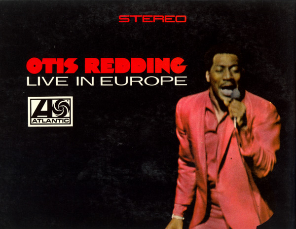 REDDING, OTIS - Live in Europe - 33T
