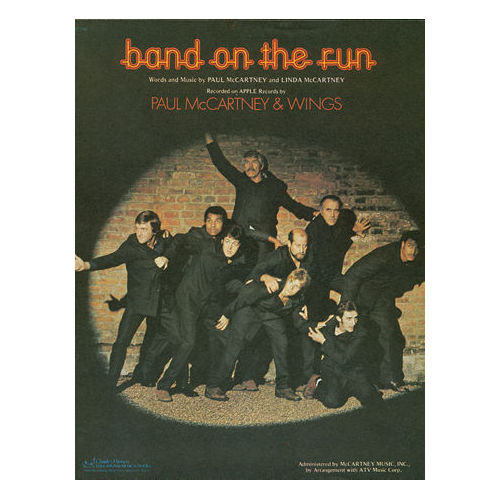 The Wings - Band On the Run -   USA sheet music