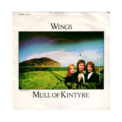 "The Wings - Mull of Kintyre - EMI 2C006 60154 France 7"" PS"