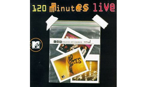 V/A sampler, incl. Oasis, Morphine, Lou Reed, PJ Harvey, Violent Femmes, Sex Pistols, Bjork, Radiohead & more - 120 Minutes Live - Atlantic CD 83052 Canada CD