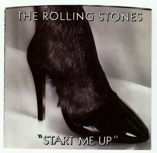 """The Rolling Stones - Start Me Up - RSR RS 21003 USA 7"""" PS"""