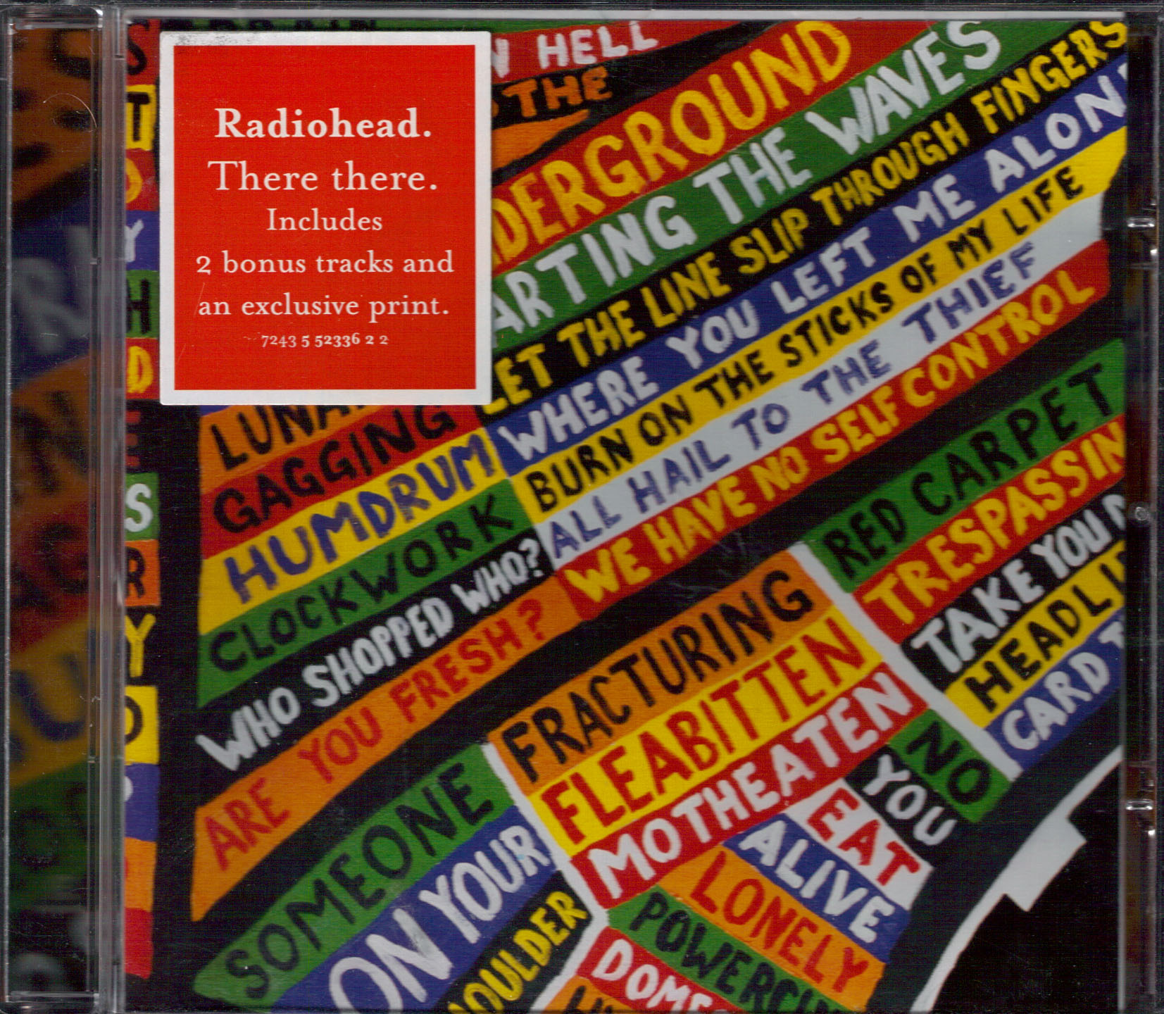 Radiohead - There There - EMI 724355233622 Europe CD