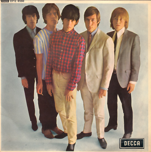 "The Rolling Stones - Five By Five - Decca DFE 8590 UK 7"" EP"