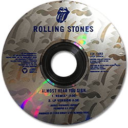 The Rolling Stones - Almost Hear You Sigh - CBS CSK 73093 USA CDS