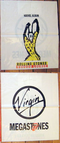The Rolling Stones - Rolling Stones - Virgin  France plastic bag