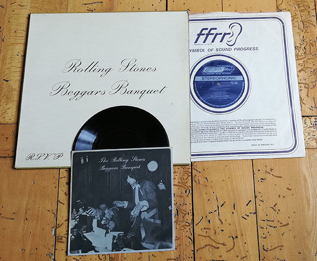 The Rolling Stones - Beggars Banquet - London PS 539 Japan LP