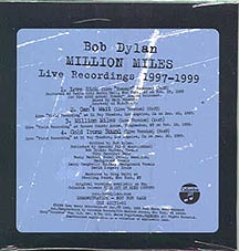 Bob Dylan - Million Miles - CBS CSK 42171 USA CDS