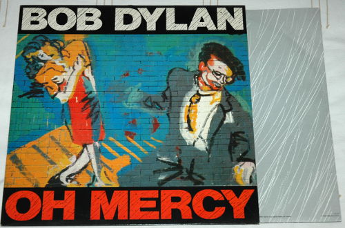 Bob Dylan - Oh Mercy - CBS 465800 1 Holland LP