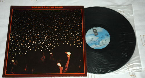 The Band + Bob Dylan - Before the Flood - WEA 63000 France LPx2