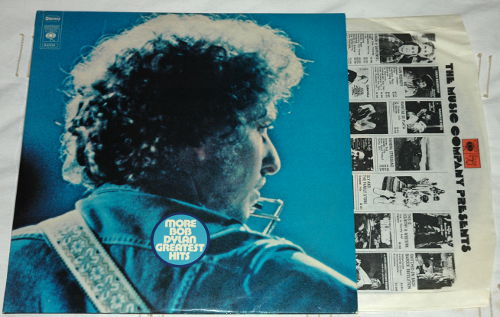 Bob Dylan - More Bob Dylan Greatest Hits - CBS 67239 Holland LPx2
