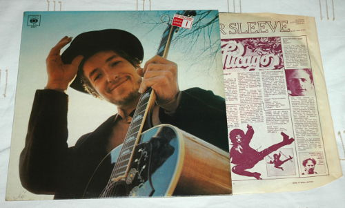 Bob Dylan - Nashville Skyline - CBS 63601 UK LP