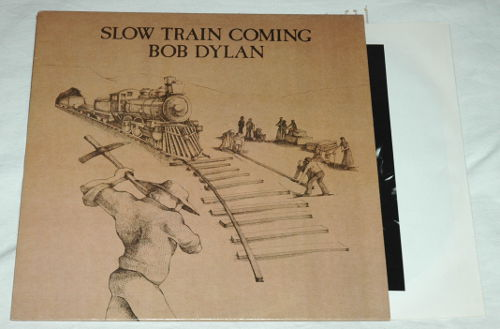 Bob Dylan - Slow Train Coming - CBS 63000 Holland LP