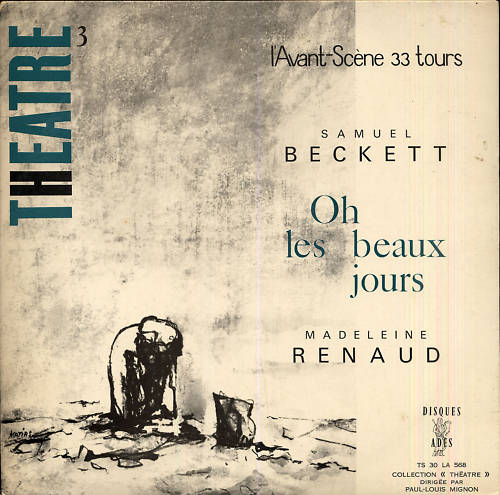madeleine renaud and samuel beckett oh les beaux jours -