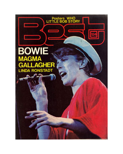 David Bowie, Magma, etc - Best #124 -   France mag