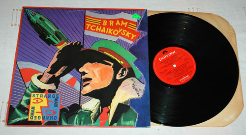 Bram Tchaikovsky - Strange Man Changed Man - Polygram PD 1-6211 Canada LP