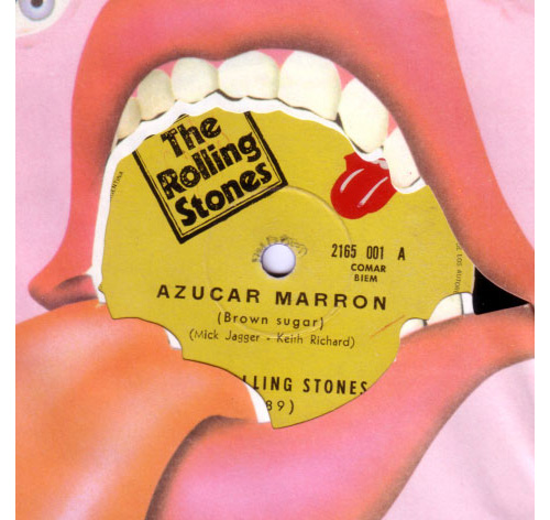 """The Rolling Stones - Brown Sugar - RSR 2165001 Argentina 7"""""""