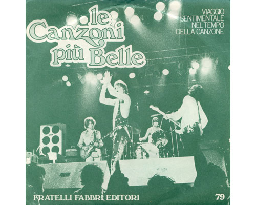 "The  Rolling Stones (related) - Le Canzoni Piu Belle - FFE 79 Italy 7"" PS"
