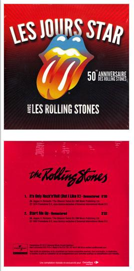 The Rolling Stones - Les Jours Stars Avec Les Rolling Stones - Universal 533773-4 France CDS