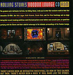 The Rolling Stones - Voodoo Lounge - Virgin  UK CDRom