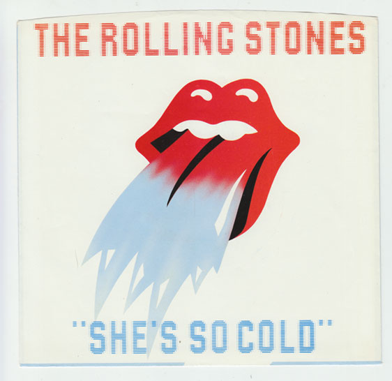 """The Rolling Stones - She's So Cold - RSR RS 21001 USA 7"""" PS"""
