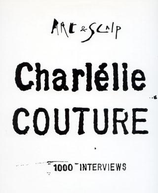 Charlélie Couture - 1000 Interviews - Island 6863 243 France LP