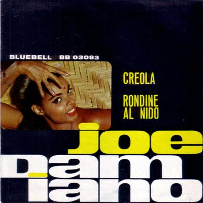"""Joe Damiano - Creola  - Bluebell BB 03083 Italy 7"""" PS"""