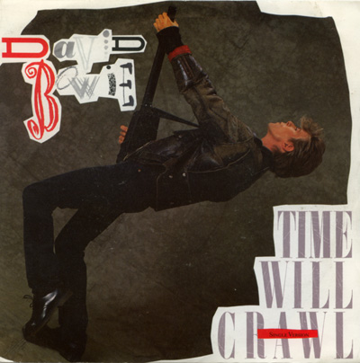 """David Bowie - Time Will Crawl - EMI EA 237 UK 7"""" PS"""