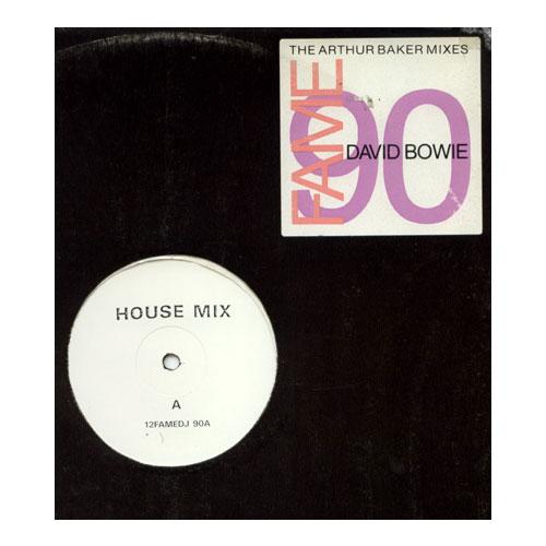 """David Bowie - Fame - EMI 12FAMEDJ90 UK 12"""""""