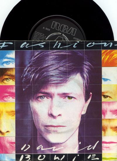 "David Bowie - Fashion - RCA BOW 7 UK 7"" PS"