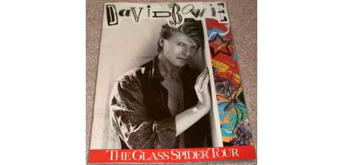 David Bowie - Tour Program -   Europe program
