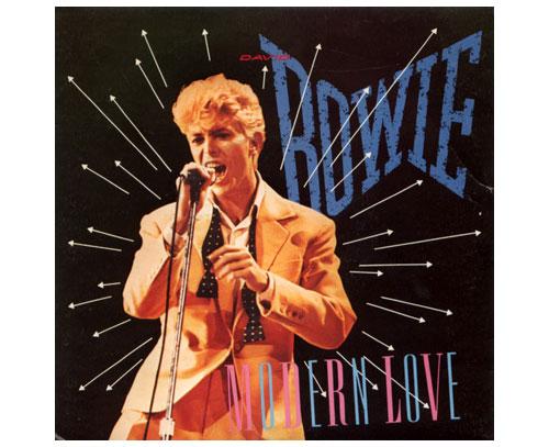 "David Bowie - Modern Love - EMI 1867627 France 7"" PS"