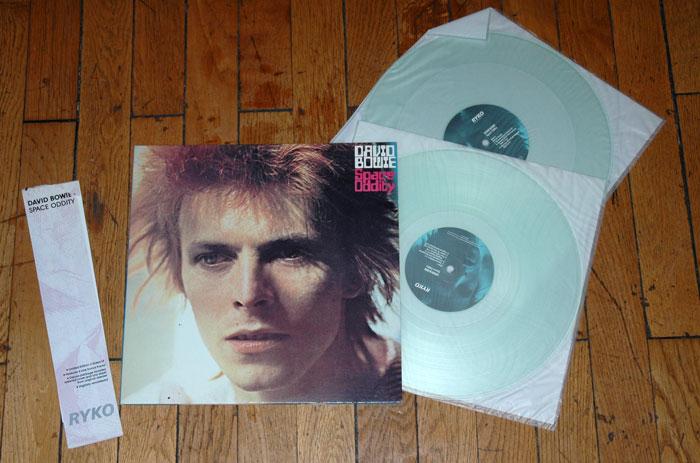 David Bowie - Space Oddity - RYKO RALP 0131-2 USA LPx2