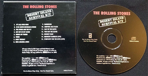 The Rolling Stones - Desert Island Survival Kit  - Abkco 1848-2  USA CD