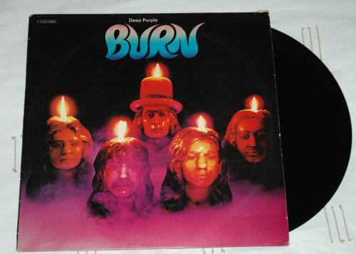 Deep Purple - Burn - EMI 2C066 94837 France LP