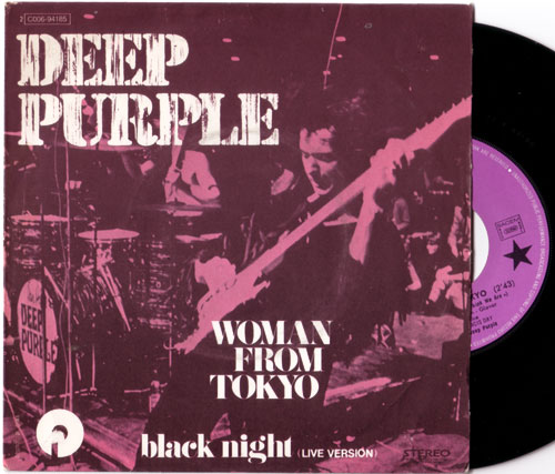 "Deep Purple - Woman From Tokyo - EMI 2C006 94185 France 7"" PS"
