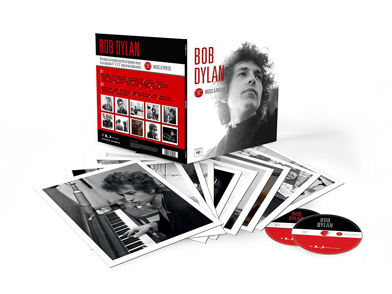 Bob Dylan - Music & Photos - SONY 9781908709301 Europe CDx2