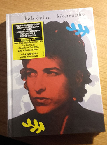 Bob Dylan - Biographe - SONY 9781908709219 Europe CDx3