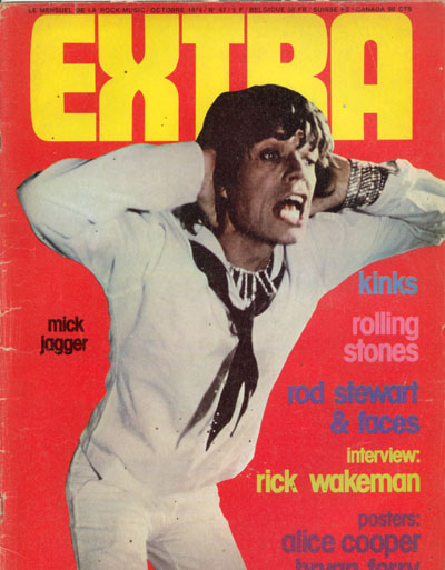 The Rolling Stones - Extra #47 - 10/74 -   France mag