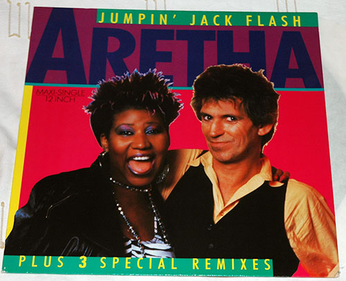 Keith Richards & Aretha Franklin Jumpin' Jack Flash