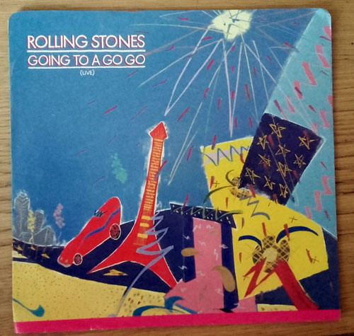 "The Rolling Stones - Going To a Gogo - EMI KRS 21301 Q Canada 7"" PS"