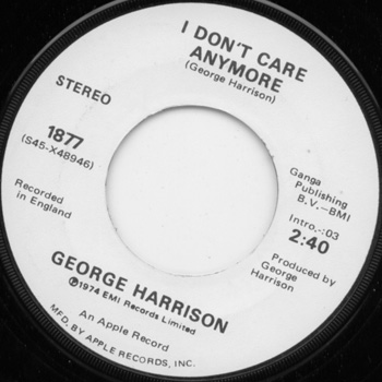 Harrison, George (The Beatles) Dark Horse