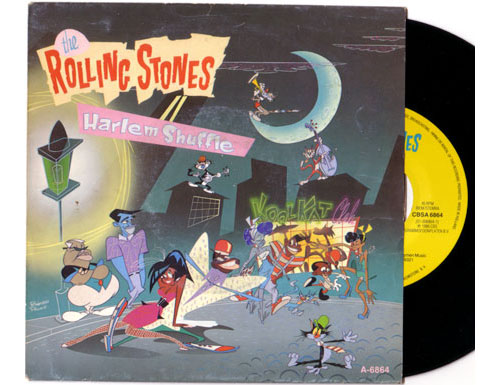 "The Rolling Stones - Harlem Shuffle - CBS A 6864 Holland 7"" PS"