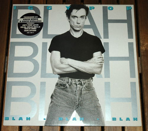 Iggy Pop - Blah Blah - A&M LP 395145-1 France LP