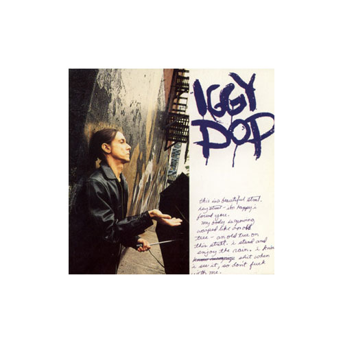Iggy Pop - (none) - Virgin Fnac France booklet