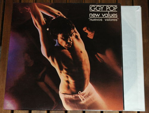 Iggy Pop - New Values - Arista 201144 Spain LP