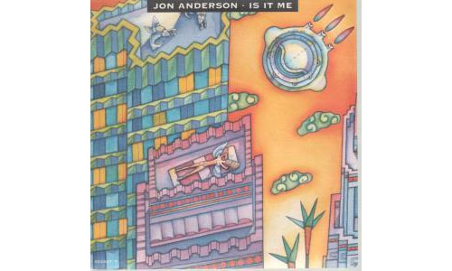 "Jon  Anderson (Yes) - Is It Me - EPIC 652947 UK 7"" PS"