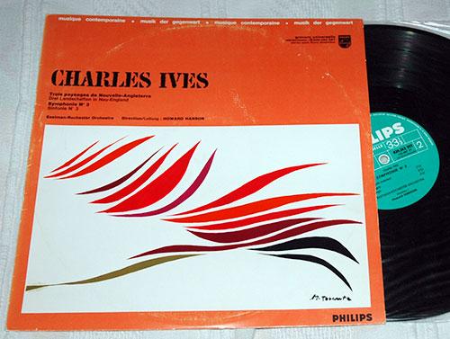 Ives - Trois Paysages de Nouvelle Angleterre - Philips 839.262 DSY France LP