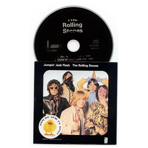 The Rolling Stones - Jumpin' Jack Flash - Polygram 882251-2 Holland CDS